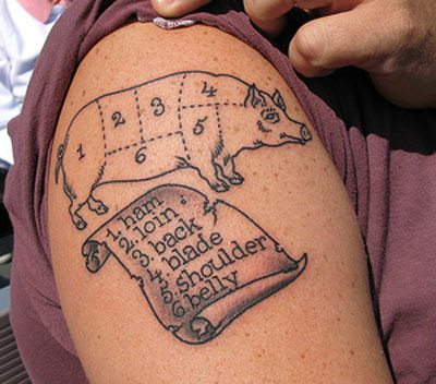 Food Tattoos Gone Horribly Wrong
