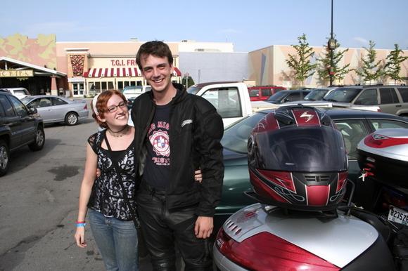 Eric Farewell and Freya Ross