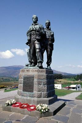 Commando Memorial by mplatts